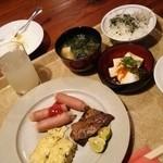 ルネッサンス リゾート ナルト - 朝食も郷土色が色濃いバイキングです。