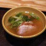 銀座 きた福 - 鴨鍋