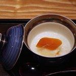 銀座 きた福 - からすみと餅かゆ