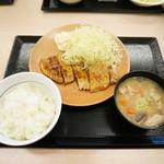 かつや - しょうが焼き定食¥450