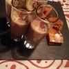 アエスピリトロンパ - 料理写真:前菜のひよこまめ冷スープとエンパナーダ