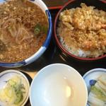 やぶき - 料理写真:天重セット 1200円