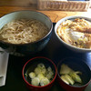 やぶ久 - 料理写真:カツ丼セット 890円