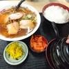 さかえ食堂 - 料理写真:ラーメン定食650円