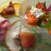 シャルル - 料理写真:コースの前菜盛り合わせ野菜のパフェ