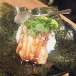 鳥貴族 - 料理写真:とり天丼おにぎり(2016.2.9)