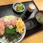 食創庵 - ねぎとろ丼(770円)