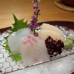 酒肴菜飯 さくら - 真鯛、鮃、平貝