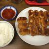 ホワイト餃子 - 料理写真:15個ライス870円