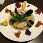 Torattoria Vagabond - 魚介のスープ仕立て