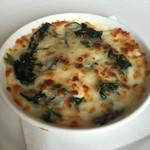 オーシャン カシータ - 広島産牡蠣と寒じめほうれん草のクリームグラタン
