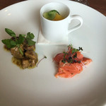オーシャン カシータ - 本日の前菜の盛り合わせ
