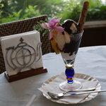 ナギサコーヒー店 - チョコレートパフェ
