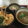 うさぎ庵 - 料理写真:天丼セット