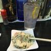 国道下 - 料理写真:レモンチューハイ、ポテトサラダ
