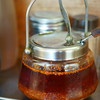 亀戸餃子 - 料理写真:辣油(たうがらしあぶら)は食物(たべもの)