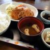 こもれ陽 - 料理写真:チキンカツ定食(日替りランチ)