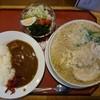 大むら食堂 - 料理写真:2016年1月 ランチBセット(太麺かため大油)