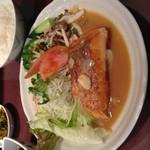味の正福 - 生鮭バター焼き定食
