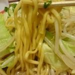 47568836 - 赤練味噌野菜の麺アップ