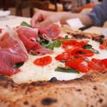 ナプレ - ピザ マルゲリータと生ハム