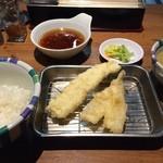 天ぷらの山 - 海老定食