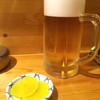 ふくべ - ドリンク写真:生ビール 2016.2