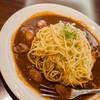 珈琲屋 鹿鳴館 - 料理写真:辛口タベルナスパゲティ ウインナー