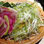 しゃぶ葉 - 取り放題の野菜