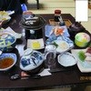 敷島荘 - 料理写真:定番の夕食