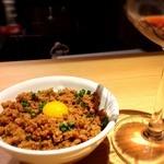 鶏晶 - オクラ悟飯と鶏そぼろではじけて混ざれッ!