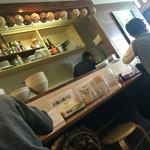 麺屋 169 - 店内