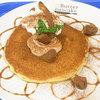 バター パンケーキ  ベイキング ファクトリー - 料理写真:栗とマスカルポーネのパンケーキ・シングル¥780(税込)
