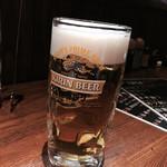 炭火焼ホルモン Fuu - 160218 生ビール