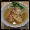 麺屋ウィロー - 料理写真:塩らーめん 750円