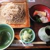 そば処 八福茶屋 - 料理写真:八方そば(冷) 1400円
