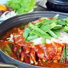 韓国料理美蘭 - 料理写真:韓国風もつ鍋