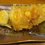 極 蘭州拉麺 - 焼き餃子(\300)