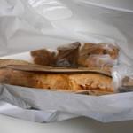 ル プロヴァンス - 料理写真:バタールを買わないとくれないであろう横に長~い袋。 H27.11.23