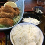 47642636 - カキフライ定食