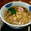 そば処三河屋 - 料理写真:たぬきそば 600円