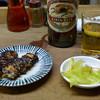 カブト - 料理写真:先ずは一通り(1,610円)とビール大瓶(670円)を注文