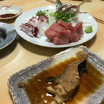 鳥よし - 料理写真:ギンダラ甘辛煮 甘味が神