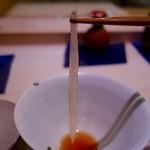 鮨 恵三 - おまかせコース(12500円)・のれそれは穴子の子供。