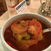 シェ松尾 - 料理写真:季節野菜のトマトブイヨンスープ