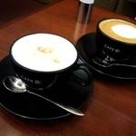 丸の内 CAFE 会 - ハニーミルクラテ 650円
