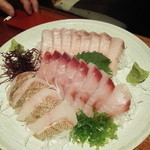 九州の地魚料理 侍 - 刺身(地魚)
