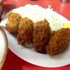 お食事の店 まさみ - 料理写真:日替りランチ:この日はカキフライ定食