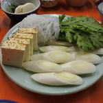 米久本店 - 野菜2人前