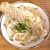 宮武製麺所 - 料理写真:かけそのままとちくわ天